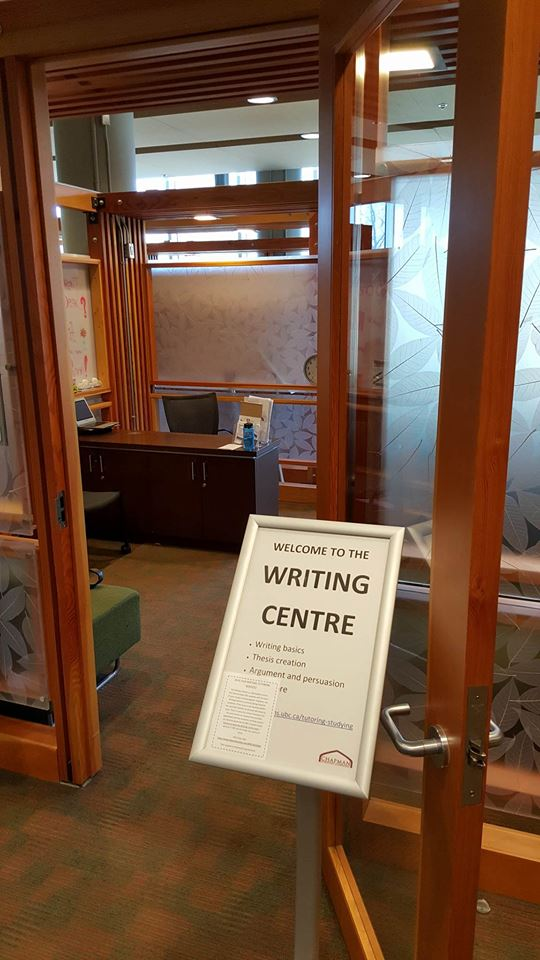 ubc creative writing centre The centre for writing and scholarly communication (cwsc) supports a diverse  community of writers at ubc, at various levels of proficiency, across many types  of writing situations: academic, creative, professional, and technical cwsc peer .